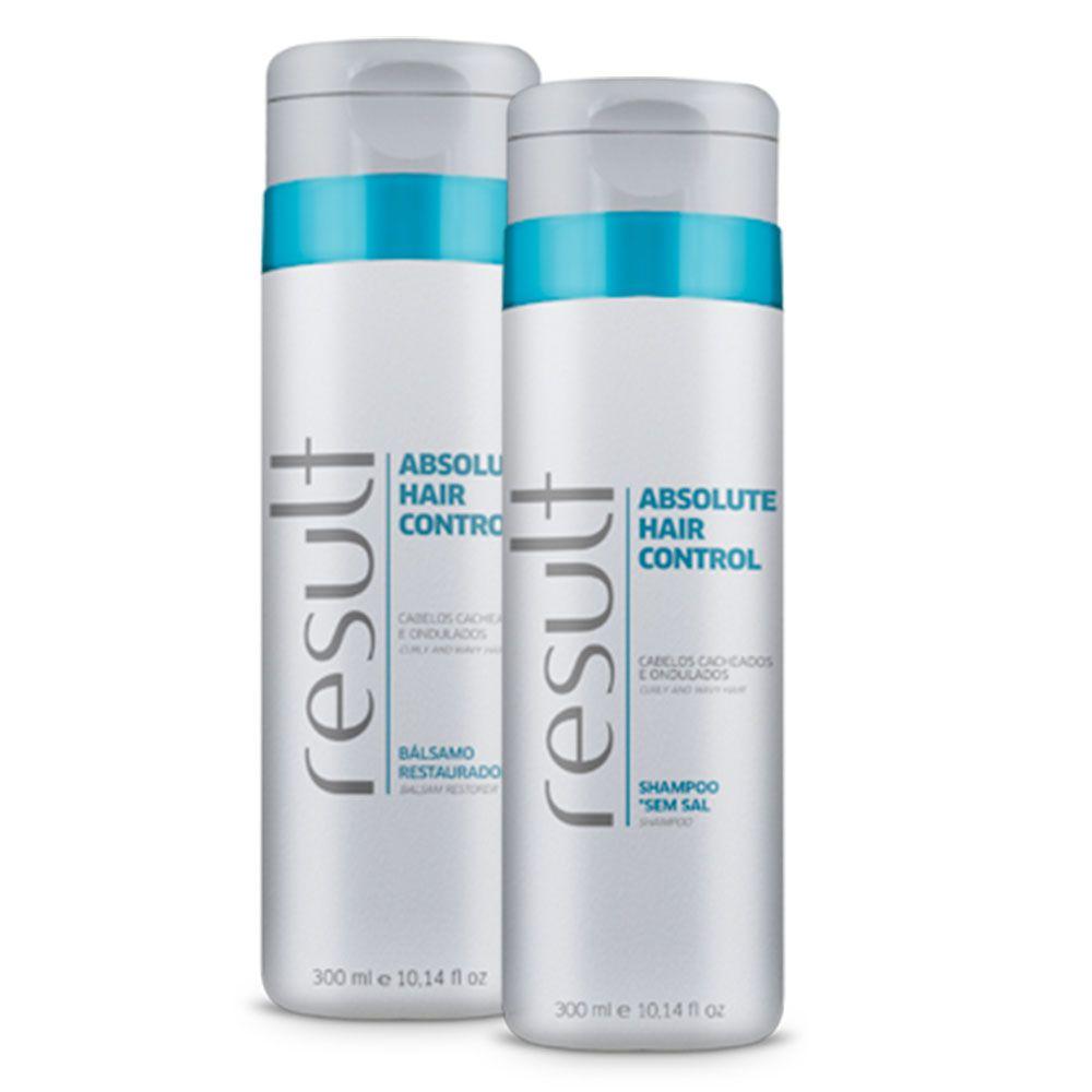 Result Absolut Hair Control Shampoo + Balsamo
