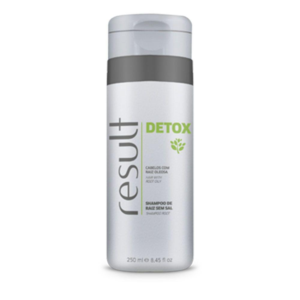 Result Detox Shampoo Para Cabelos Com Raiz Oleosos 250ml