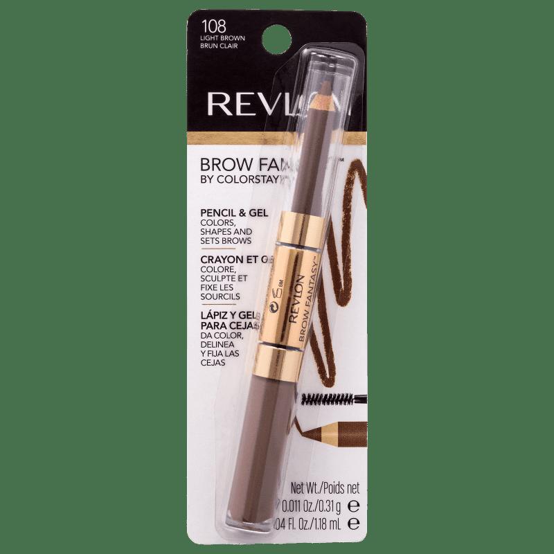 Revlon Brow Fantasy by ColorStay 108 Light Brown - Lápis para Sobrancelha