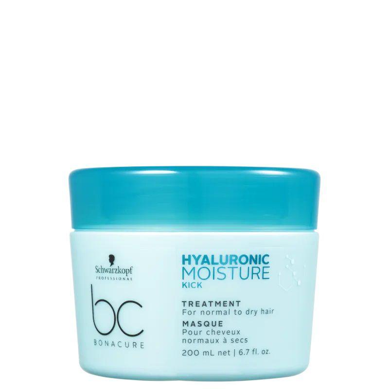Schwarzkopf BC Bonacure Hyaluronic Moisture Kick Treatment - Máscara de Hidratação 200ml