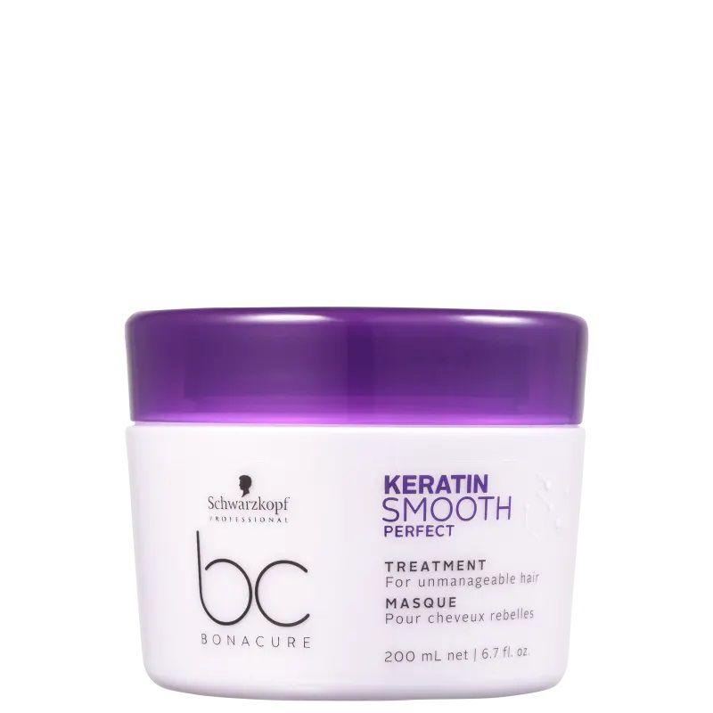 Schwarzkopf BC Bonacure Keratin Smooth Perfect - Máscara Capilar 200ml