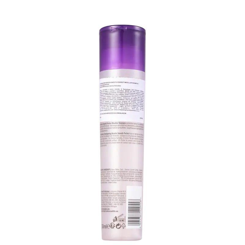 Schwarzkopf BC Bonacure Keratin Smooth Perfect - Shampoo 250ml