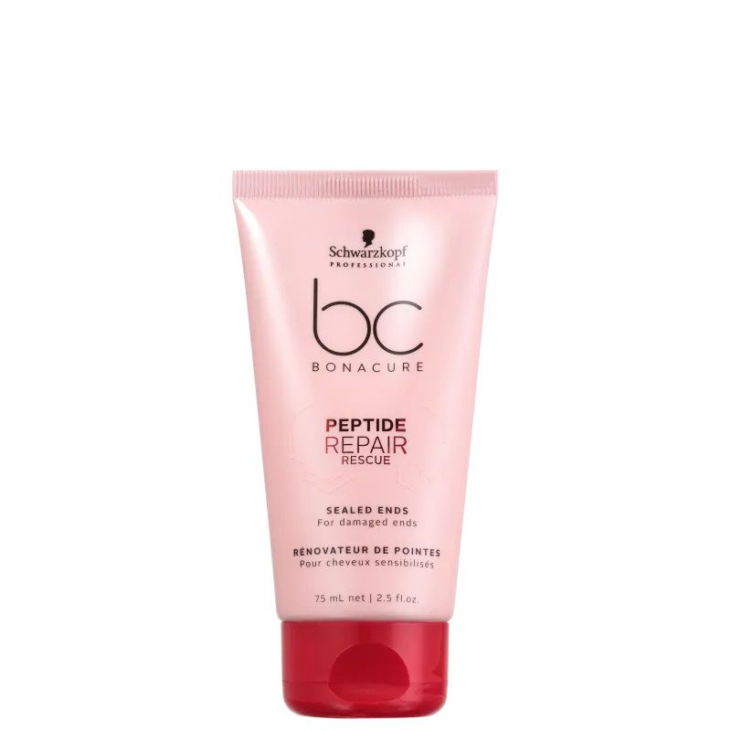 Schwarzkopf BC Bonacure Peptide Repair Rescue Sealed Ends - Reparador de Pontas 75ml
