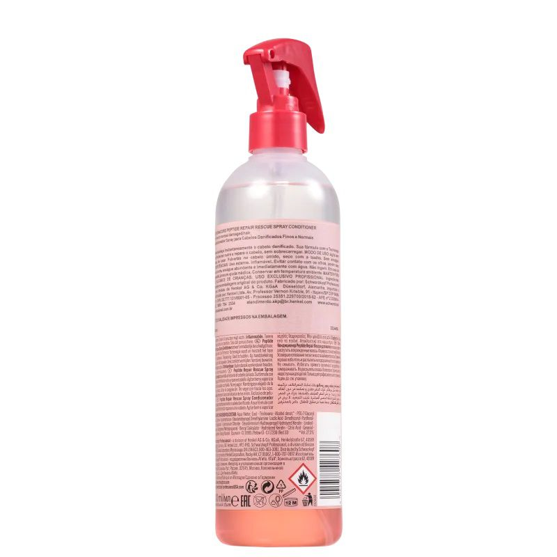 Schwarzkopf BC Bonacure Peptide Repair Rescue - Spray Leave-in 400ml