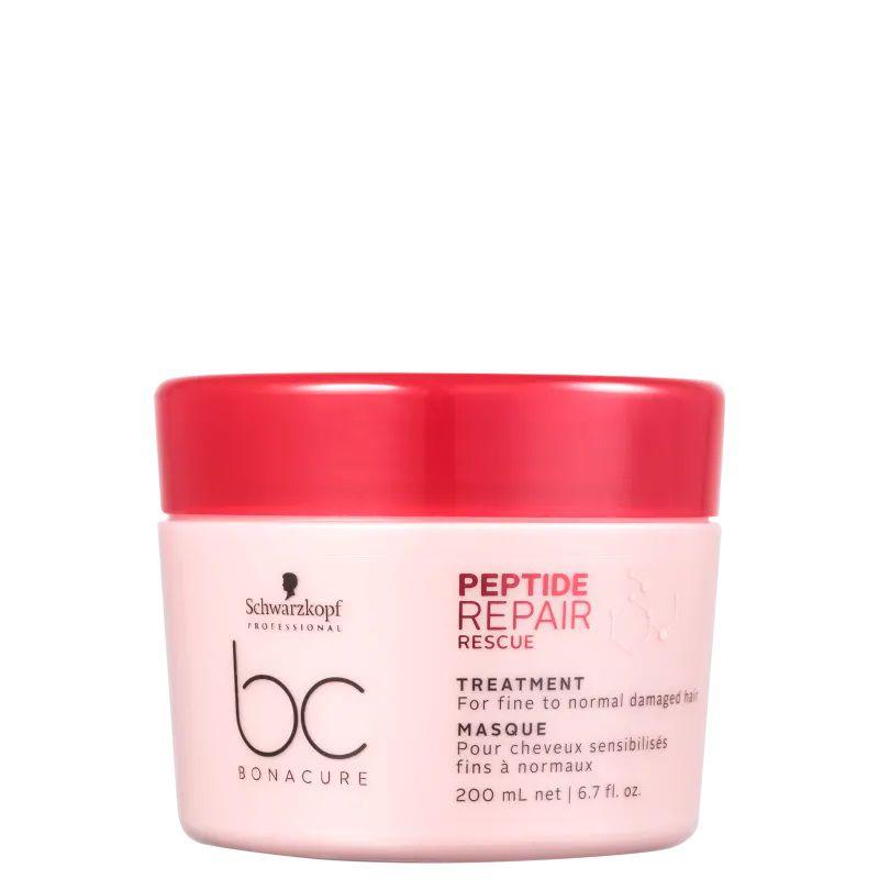 Schwarzkopf BC Bonacure Peptide Repair Rescue Treatment - Máscara 200ml