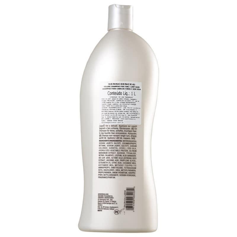 Senscience Volume - Shampoo 1000ml