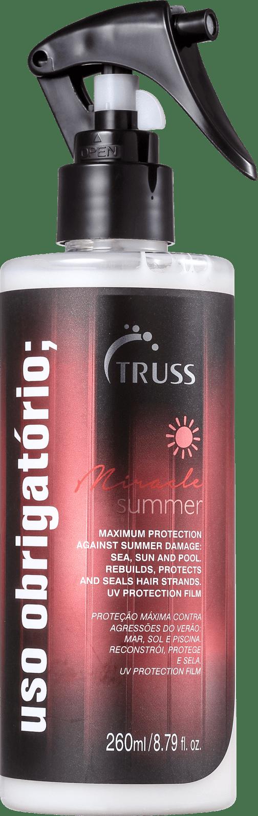 Truss Miracle Summer Uso Obrigatório - Tratamento Reconstrutor 260ml