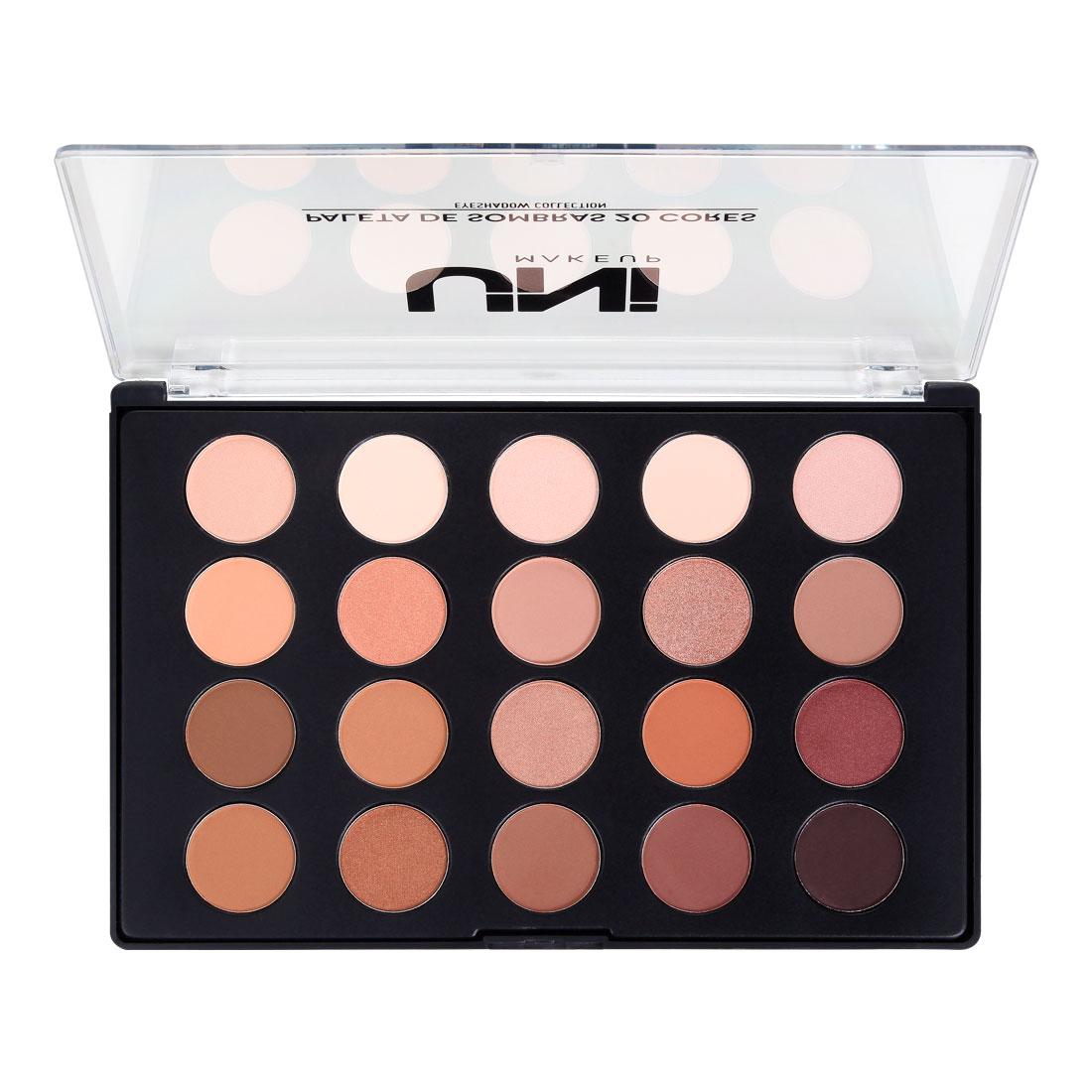 Uni Makeup Paleta de Sombras - 20 Sombras