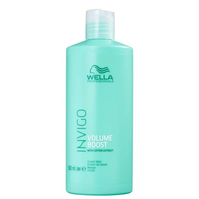 Wella Invigo Volume Boost Crystal Mask Máscara 500ml