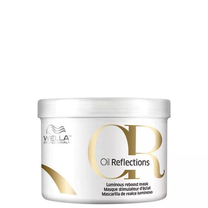 Wella Oil Reflections Luminous Reboost Mask Máscara 500g