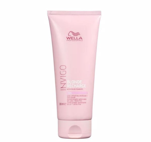 Wella Professionals Invigo Blonde Recharge - Condicionador Desamarelador 250ml