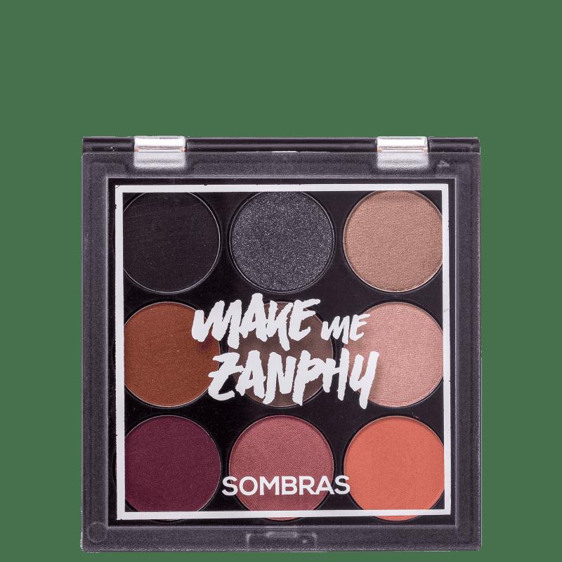 Zanphy 9 Cores N.03 - Paleta de Sombras 11,7g