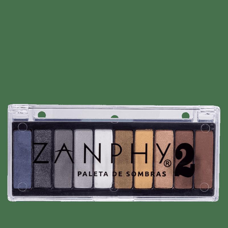 Zanphy Paleta De Sombras 10 Cores