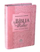 A Bíblia da Mulher Média RA - Rosa Claro
