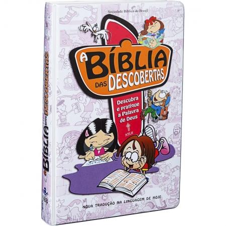 A Bíblia das Descobertas - Capa Rosa