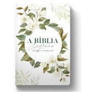 BÍBLIA ACF MAGNÓLIA BRANCA - LETRA GRANDE (R&MC)-Capa Dura