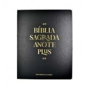 Bíblia Anote Plus RC Semi Luxo - PRETA