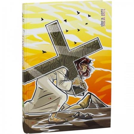Bíblia Arte NAA Capa Dura - Sacrifício