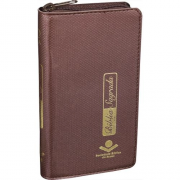 Bíblia Carteira Com Zíper e Índice