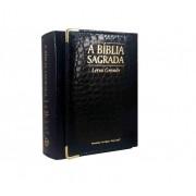 Bíblia Com Zíper Crocodilo Grande