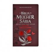 Biblia de Estudo da Mulher Sábia Tulipa