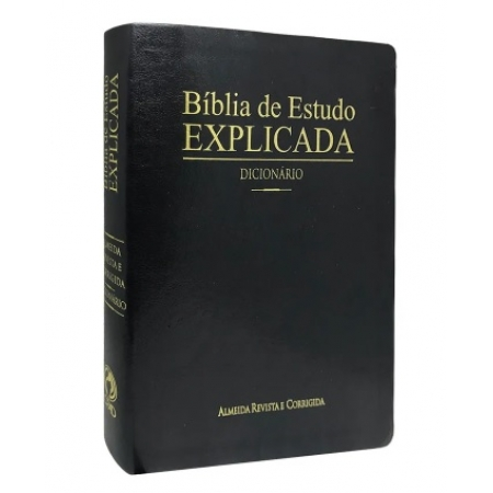 Bíblia de Estudo Explicada Com Dicionário