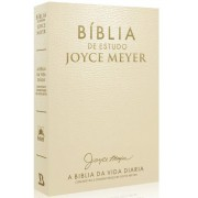 Bíblia de Estudo Joyce Meyer - Letra Grande NVI Luxo