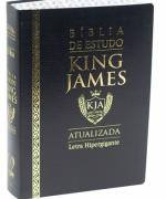 Bíblia de Estudo King James Atualizada - Luxo