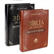 Bíblia de Estudo Matthew Henry SBB Capa