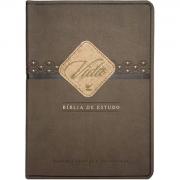 Bíblia de Estudo Vida - Capa Luxo