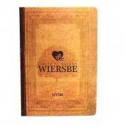 Bíblia de Estudo Wiersbe NVI - Capa Dura Neutra