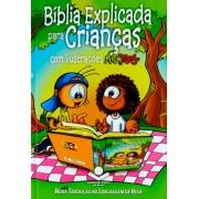 Bíblia Explicada Para Crianças com ilustrações Mig e Meg