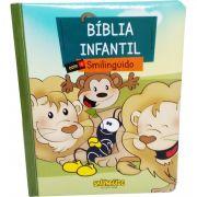 Bíblia Infantil Ilustrada Com o Smilingüido - Capa Smilingüido