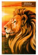 Bíblia Jovem - Capa Leão Paisagem