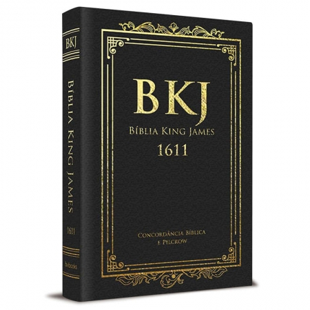 Bíblia King James Fiel 1611 Concordância Bíblica e Pilcrow