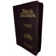 Bíblia Letra Jumbo Capa Luxo - Estrela