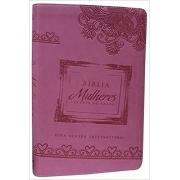 Bíblia Mulheres Diante do Trono - NVI  ROSA- Produto Reembalado