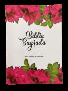 Bíblia NAA - O Preço já foi Pago Flores (Exclusiva Casa da Bíblia Online)