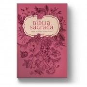 Bíblia Naa Pink Flowers-Capa Dura