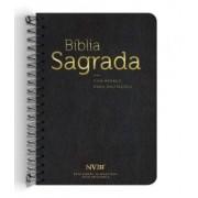 Bíblia NVI Anote Espiral Especial Masculina