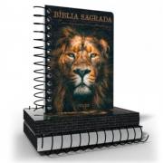 Bíblia NVI Anote Espiral Leão de Judá