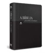 Bíblia NVI em Ordem Cronológica - Capa Luxo
