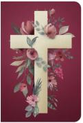 BÍBLIA NVT 960 CRUZ FLORES-Capa Dura
