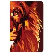 BÍBLIA NVT 960 LION COLORS FIRE-Capa Dura