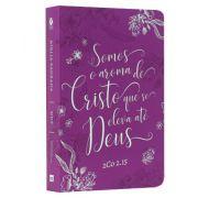 Bíblia NVT Letra Grande - Aroma de Cristo - Roxa