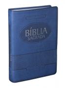 Bíblia RA Letra Gigante com Índice - Azul