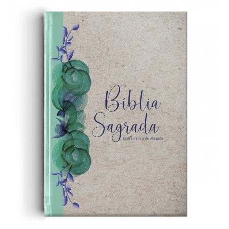 Bíblia RC Gigante Capa Especial - Reciclato Floral