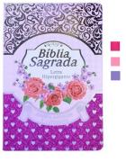 Bíblia RC Letra Hipergigante com Harpa Avivada e Corinhos - Palavras de Jesus em Vermelho