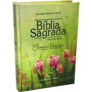 Bíblia Sagrada ARA - Fonte de Bênçãos - Capa Dura