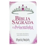 Bíblia Sagrada da Princesinha - Capa Almofadada